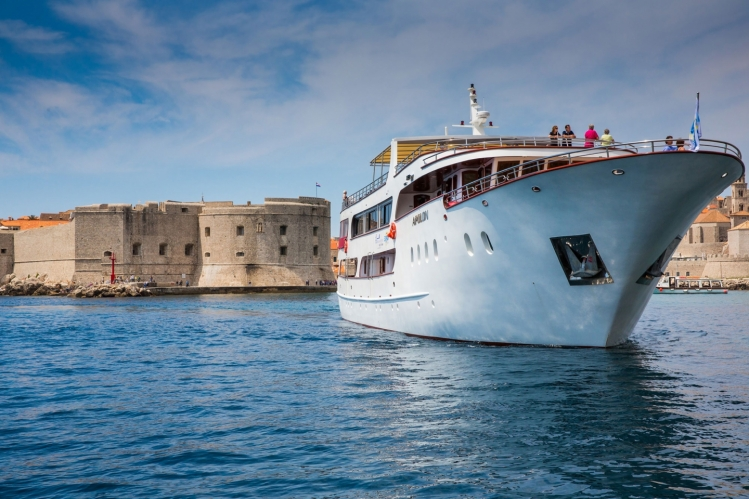 MS Apolon op cruise in Kroatië met Expair Tours