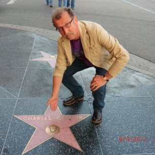 Walk of Fame op Sunset Boulevard